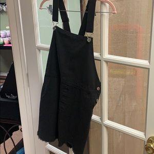 Entro black jean dress